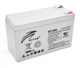 Акумулятор батарея Ritar Power RT1290, 12V / 9Ah, AGM