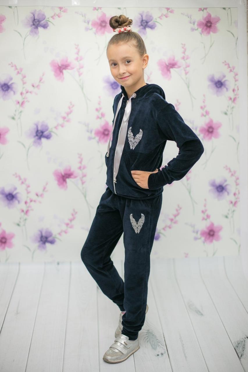 {есть:116} Велюровый костюм  для девочек , 110-134pp. [116]