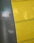 Чехлы на сиденья ДЭУ Нексия (Daewoo Nexia) (универсальные, экокожа, отдельный подголовник), фото 5