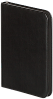 Папка 35х26,4х4 см чорна  штучна шкіра, Buromax