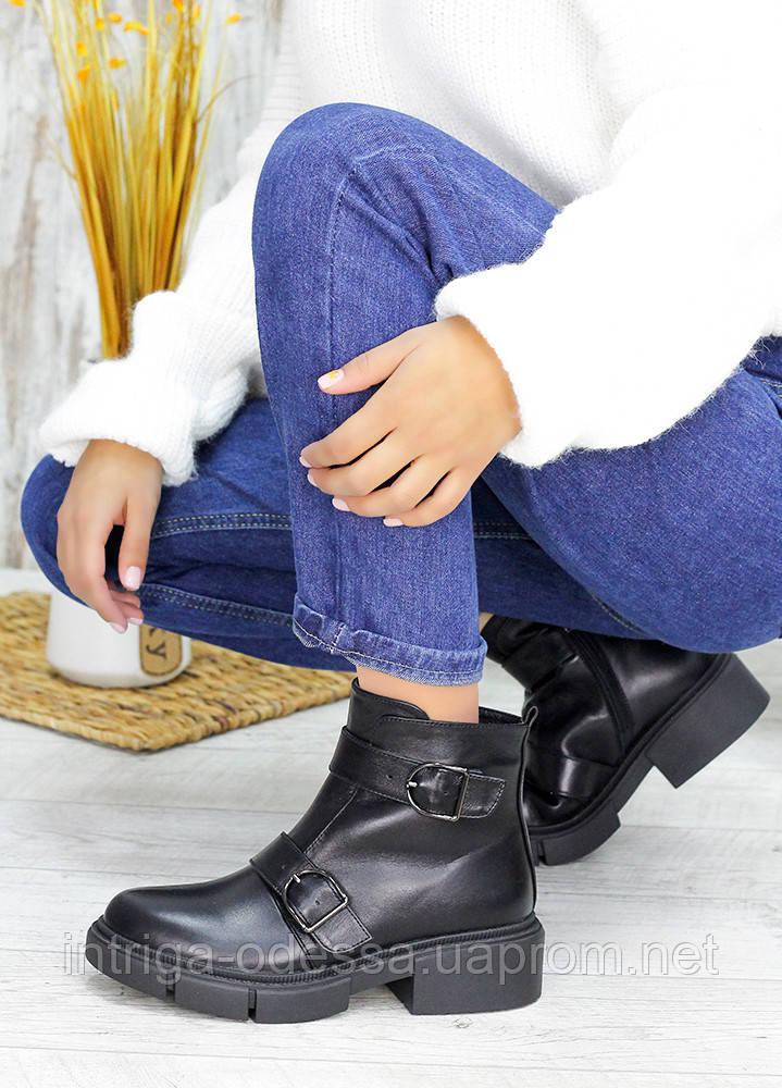 Ботинки кожаные City ??Style 7549-28