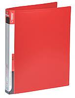 Папка А4 на 2-х кільцах червона, Norma (10)