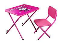 Стол-парта со стульчиком Ommi Китти розовая