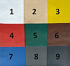 Чехлы на сиденья Шевроле Лачетти (Chevrolet Lacetti) (модельные, кожзам, отдельный подголовник), фото 7