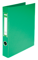 Папка А4 на 2 кільця 4 см зелена, Buromax