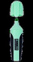 Маркер текстовий PASTEL 2-4 мм з гум. вставками м'ятний, Buromax (12)