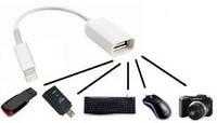 Кабель USB OTG для IPHONE 5 и mini IPAD