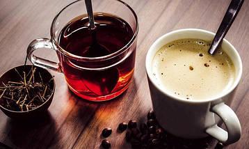 Кава, чай