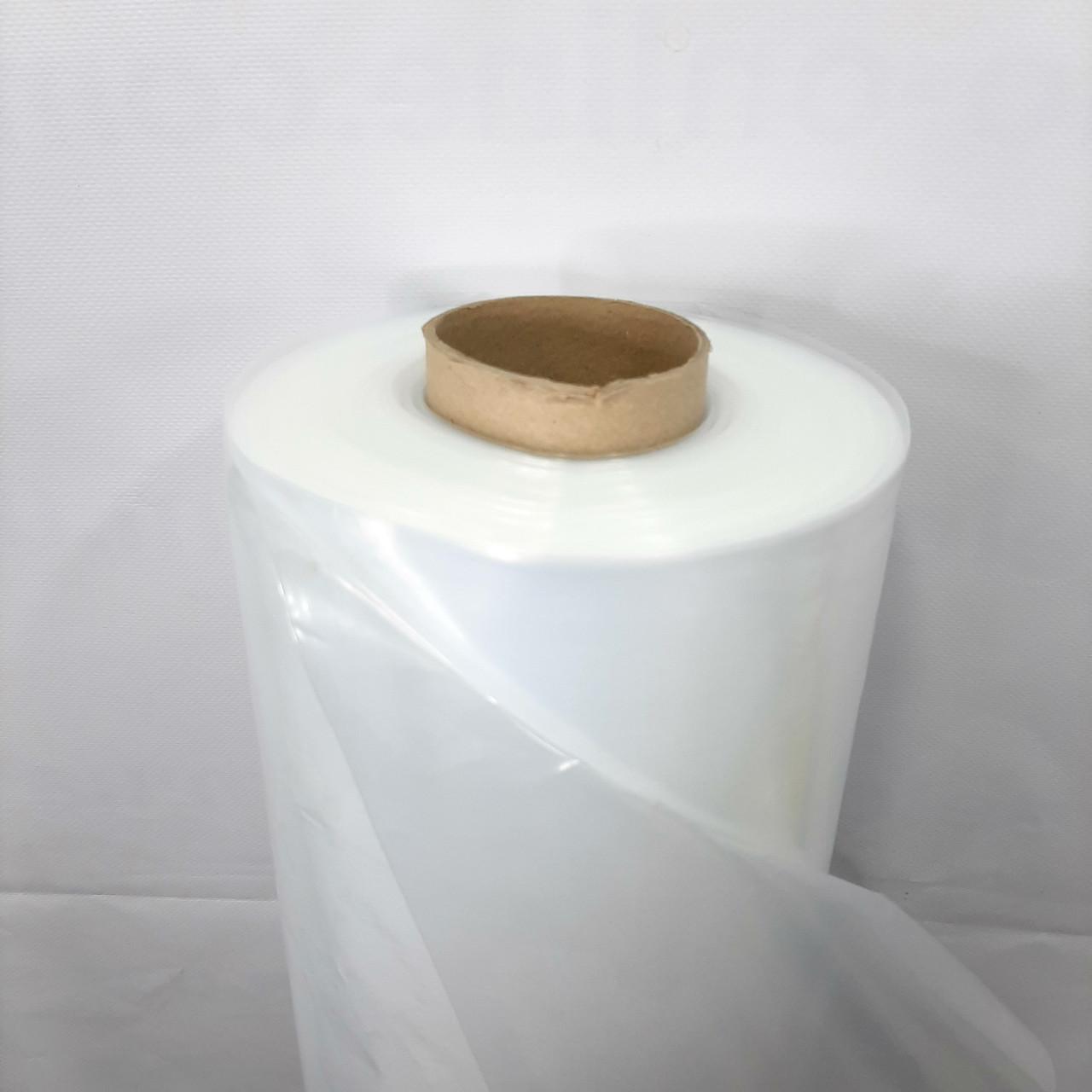 Пленка тепличная (белая), 30мкм, 3м/100м. Прозрачная (парниковая, полиэтиленовая).
