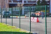 Забор металлический из сварной сетки, панельное ограждение 1680х2500 Техна-Классик