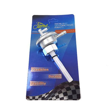 Вакуумный клапан (кран) GY6/DIO с гайкой на бак LIPAI, фото 2