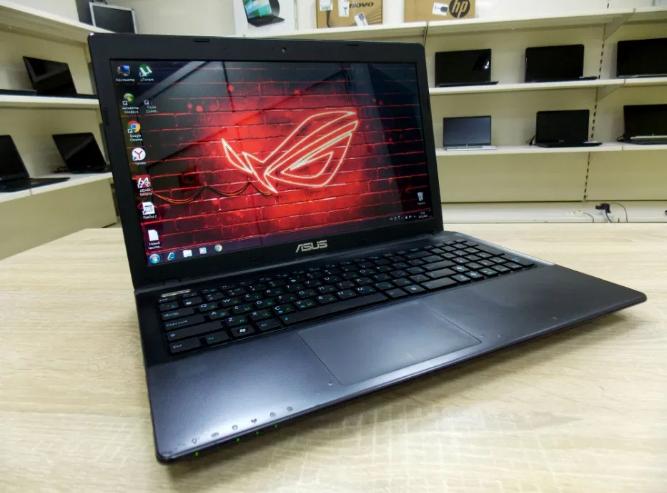Игровой Ноутбук Asus K55D + (Четыре ядра) + Диск 750 ГБ + Гарантия