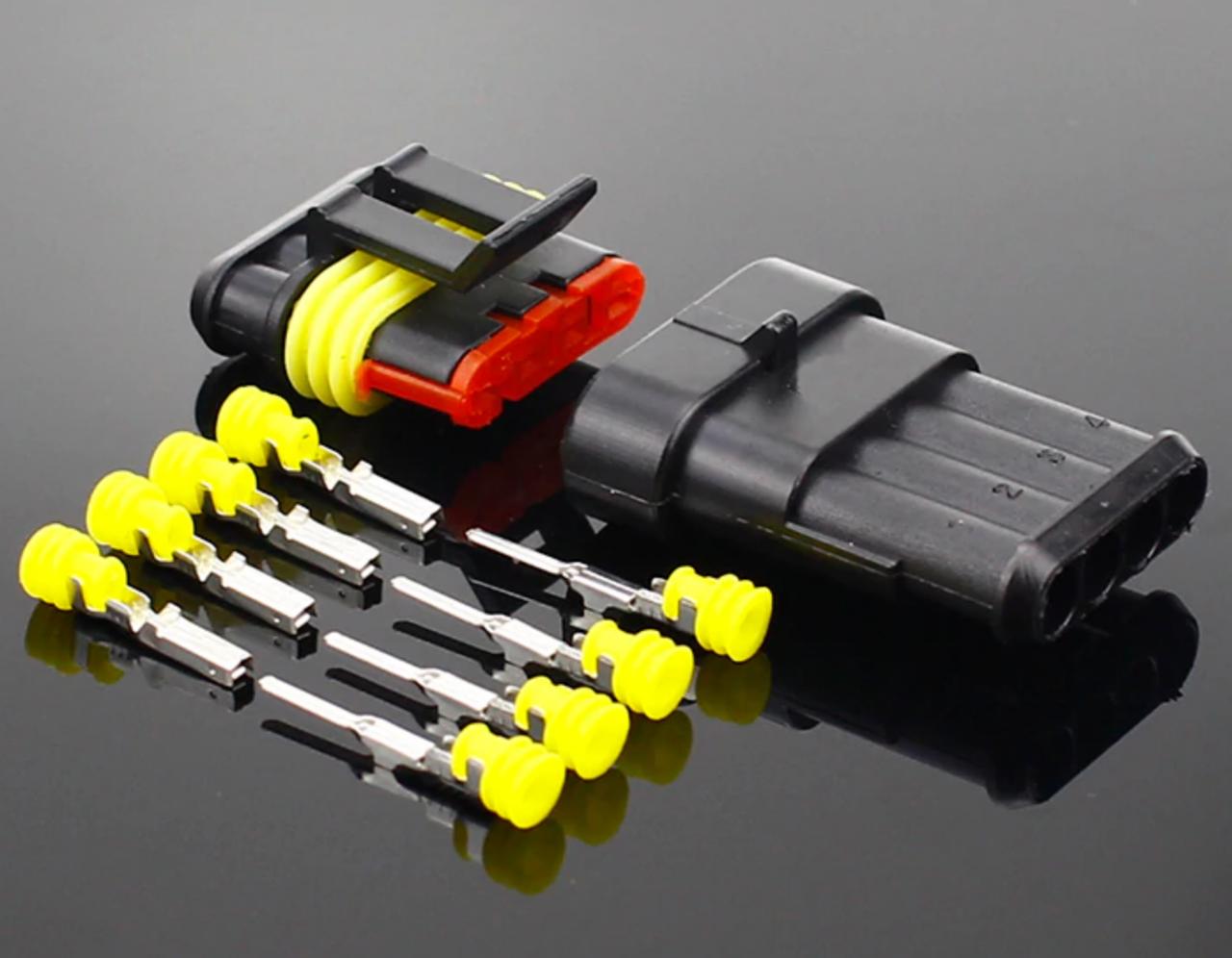 Роз'єм і гніздо 6 PIN (тато-мама) водонепроникний коннектор/з'єднувач IP68
