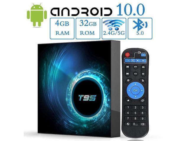 Смарт приставка Vontar T95 4\32 5g wi-fi Android 10.0 Allwinner H616