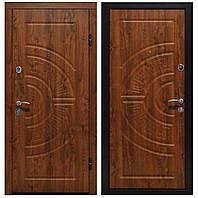 Металлические входные двери ПУ-08 Золотой Дуб