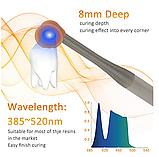 Светодиодная полимеризационная лампа и кариес детектор 2 в 1 Coxo DB-686 Nano Curing light NEW 2020, фото 8
