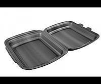Ланч-бокс черный 250x210x70 мм (ящик 125 шт)