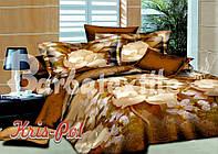 """Комплект постельного белья двуспальный, ранфорс, 3D """"Фаина"""""""
