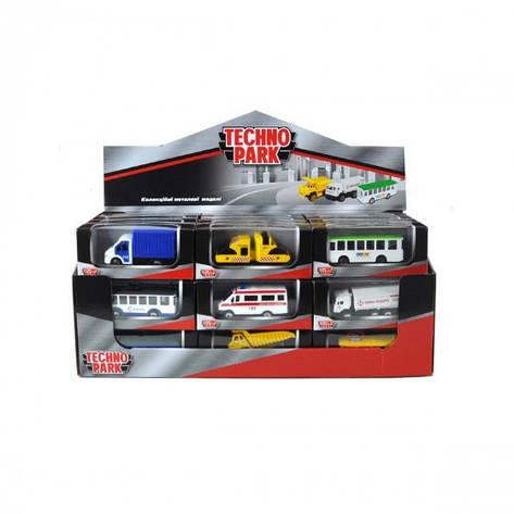 """Міні-моделі службовий транпсорт - """"TECHNOPARK"""" асорті, фото 2"""