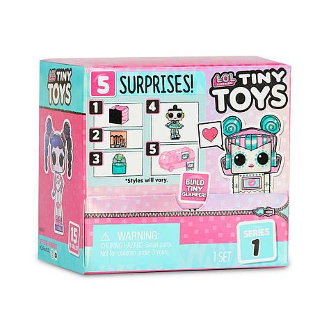"""Ігровий набір L.O.L SURPRISE! серії """"Tiny Toys"""" - КРИХІТКИ (в асорт., у дисплеї) //, фото 2"""