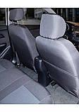 Чехлы на сиденья Hyundai Accent RB раздельные 2010-2017 хундай акцент RB, фото 7