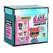 """Ігровий набір з лялькою L.O.L. SURPRISE! серії """"Furniture"""" S2 - КЛАС РОЗУМНИЦІ"""
