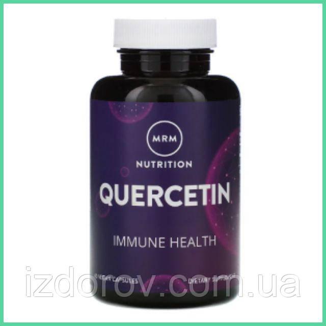 MRM, Nutrition, Кверцетин 500 мг, Quercetin, 60 веганских капсул