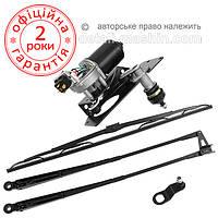 Стеклоочиститель МТЗ-82 передний УК (моторедуктор, рычаги, щетка)