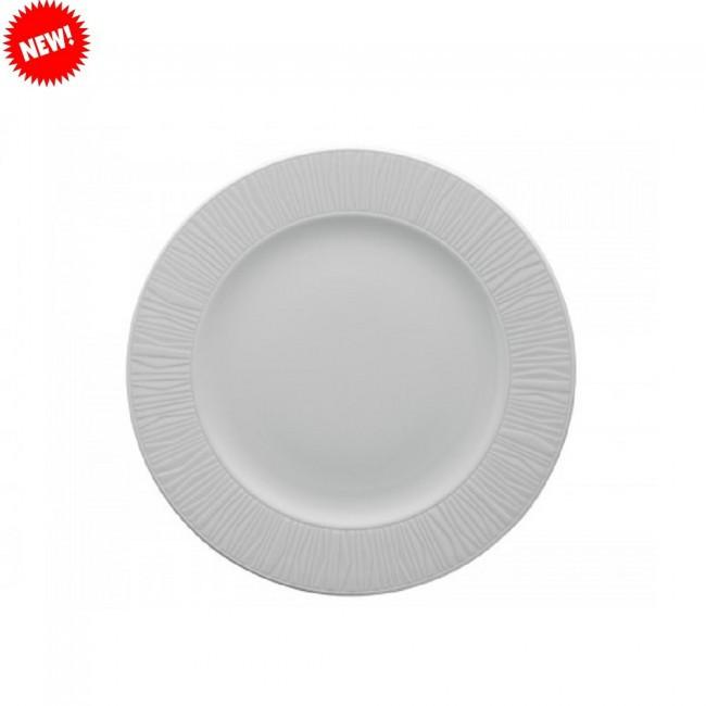 Тарелка белая фарфоровая круглая Kutahya EMOTION 200мм.