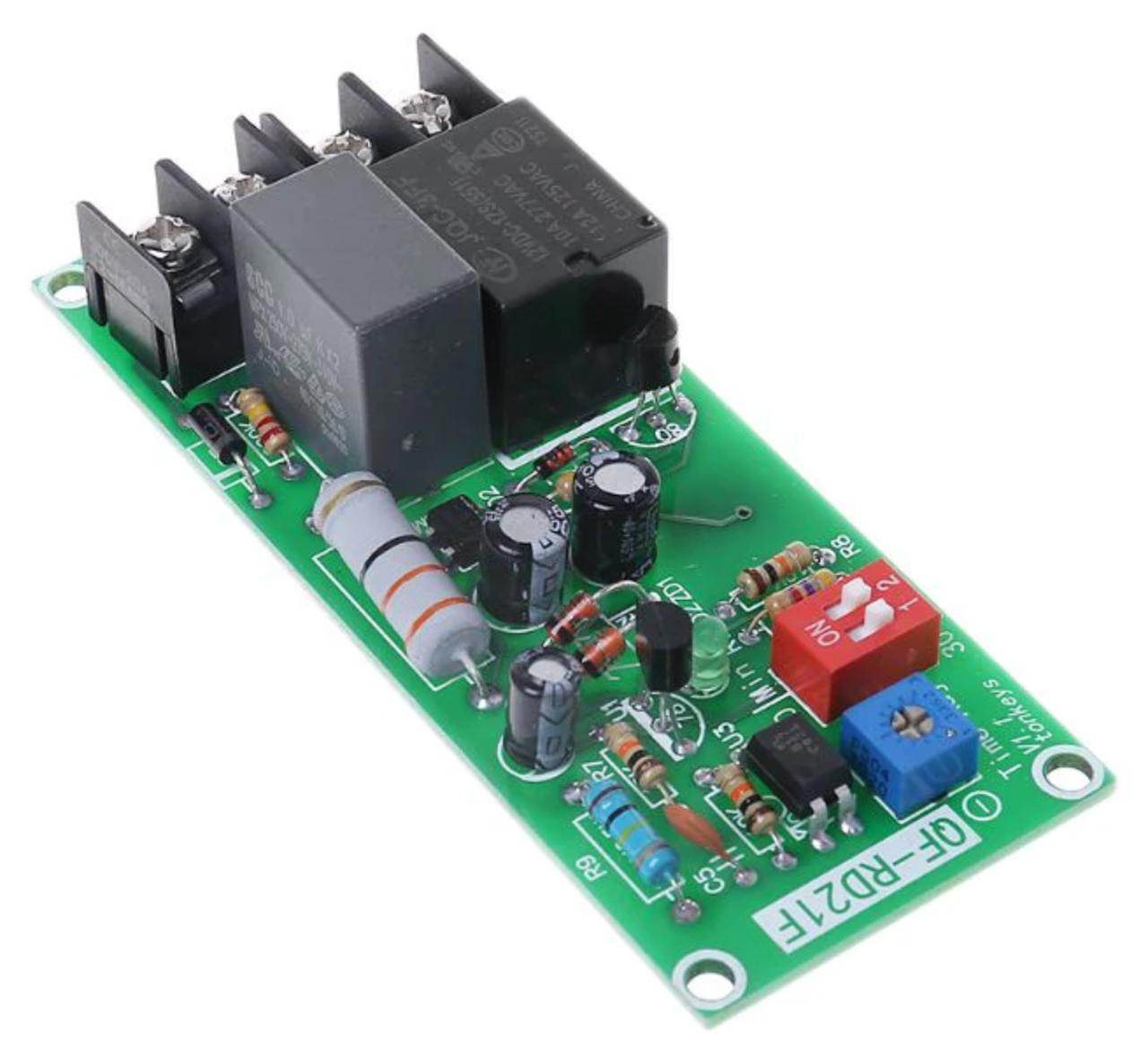 Релейний модуль затримки вимкнення для охолодження витяжного вентилятора 220В