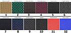 Чехлы на сиденья ДЭУ Матиз (Daewoo Matiz) (модельные, автоткань, отдельный подголовник) Черно-красный, фото 8