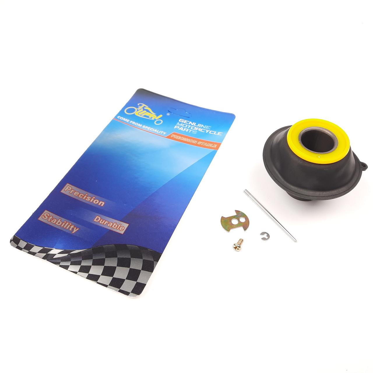 Мембрана карбюратора затворная GY6 150 24mm +игла LIPAI