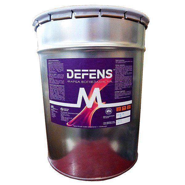 Огнезащита по металлу «DEFENS M»