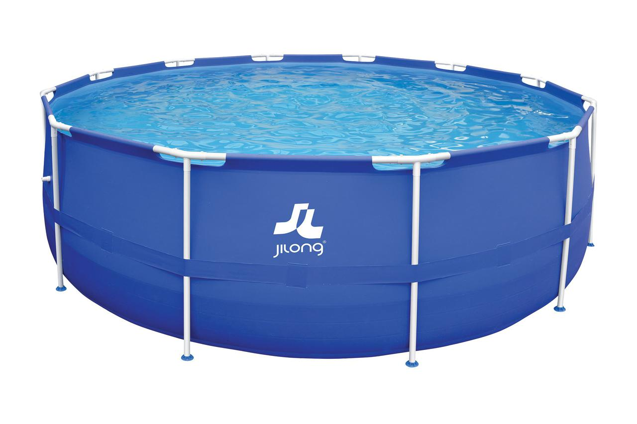 Бассейн каркасный JILONG 450×122 см 10 в 1
