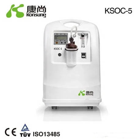 Кисневий концентратор 5 л. KSOC-5, фото 2