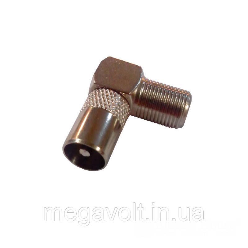 ТВ штекер угловой (папа) EH-TVF-00190