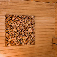 Панель можжевеловая Kadakaplaat для бани и сауны 500 х 500 мм