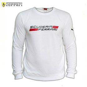 Мужской Cвитшот. Реплика Puma Scuderia Ferrari. Мужская одежда