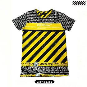 Мужская футболка. Реплика OFF-WHITE. Мужская одежда