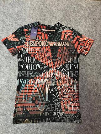 Мужская футболка. Реплика ARMANI. Мужская одежда, фото 2