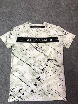 Мужская футболка. Реплика Balenciaga Мужская одежда, фото 2