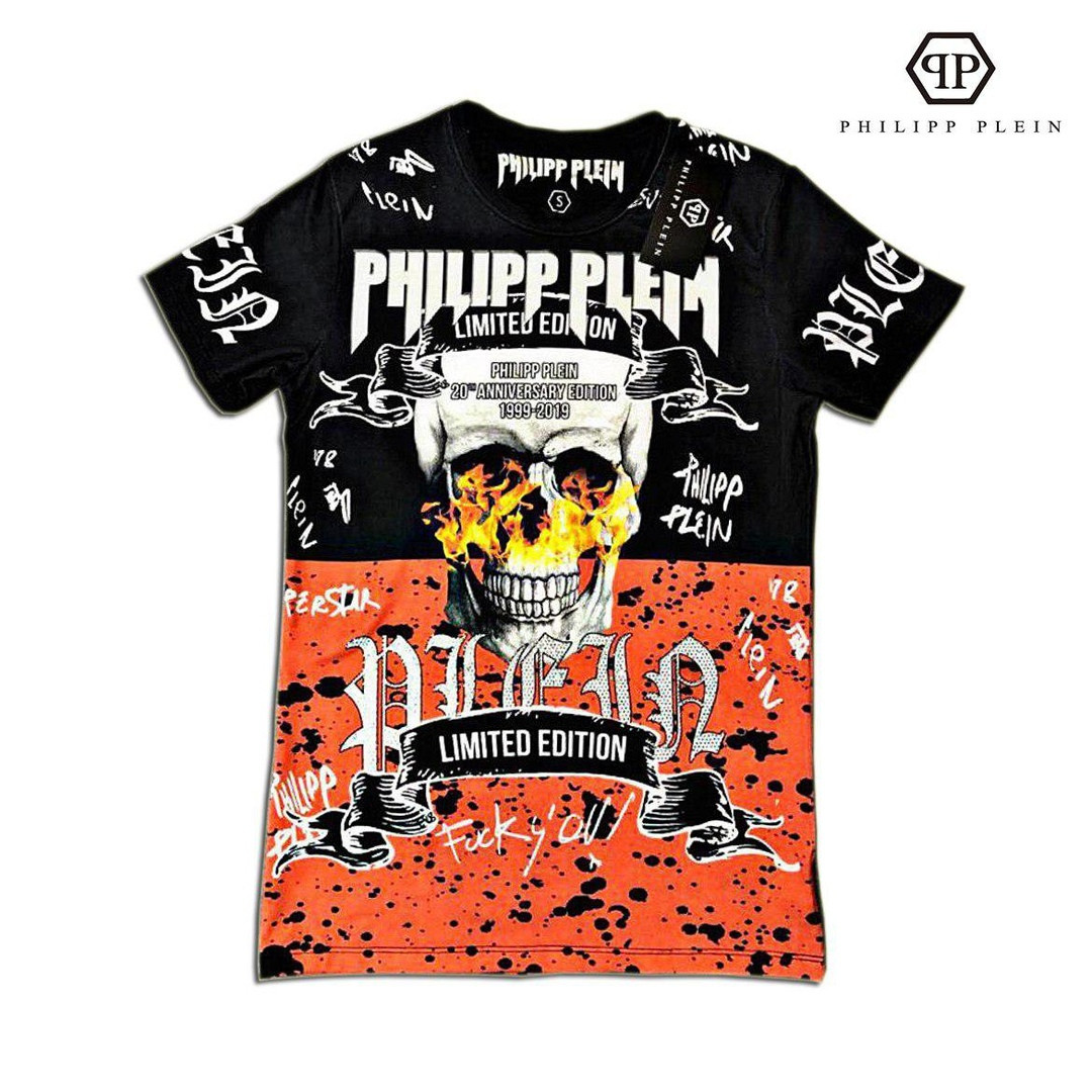 Мужская футболка. Реплика PHILIPP PLEIN Мужская одежда