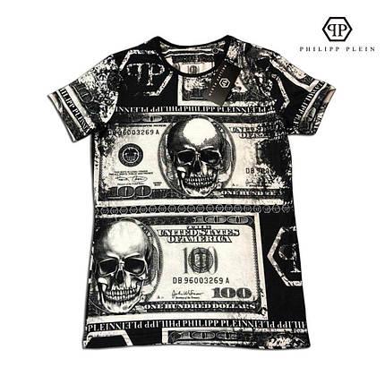 Мужская футболка. Реплика PHILIPP PLEIN Мужская одежда, фото 2