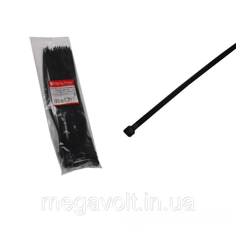 Стяжка кабельная чёрная 5x350