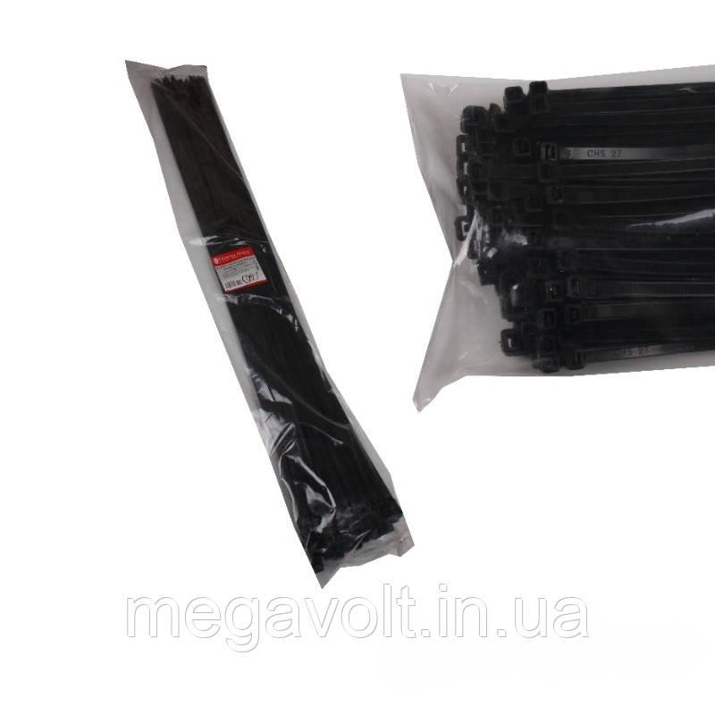 Стяжка кабельная чёрная 9x1000