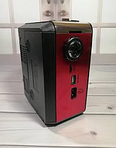 Радиоприемник Golon RX-9133 - радиоприемник от сети с аккумулятором и фонариком, портативная USB колонка, фото 3