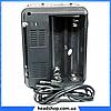 Радиоприемник Golon RX-9133 - радиоприемник от сети с аккумулятором и фонариком, портативная USB колонка, фото 2
