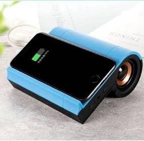 Bluetooth колонка Wireless Charging Speaker. 2 in 1. JX-01 с беспроводной зарядкой