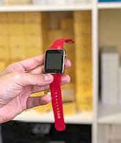 Смарт-часы Smart Watch A1 красные, фото 2