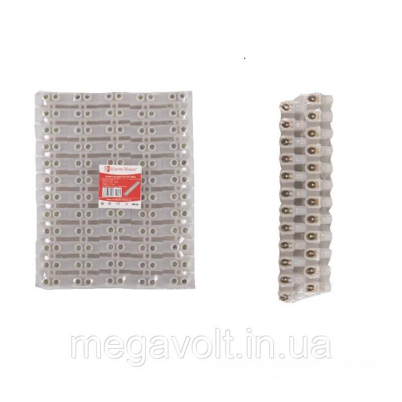 Клеммная колодка 100A 40mm² ПЭ винтовой зажим
